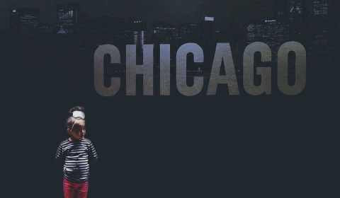 chicago image with girl